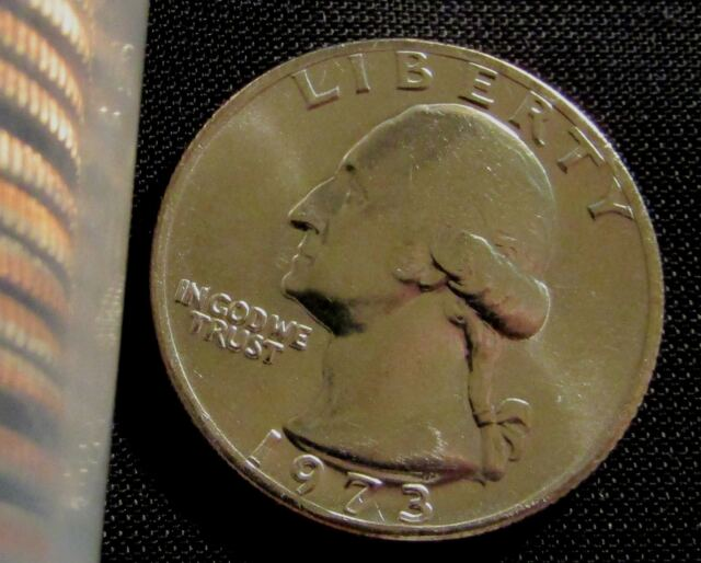 1973 P Washington Quarter Roll ~ Uncirculated in Original Mint Cello 40 each