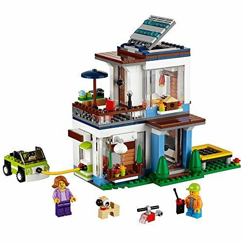 Nouveau Lego Creator Modular  maison moderne 31068 Building Kit 386 pièces livraison gratuite  forme unique