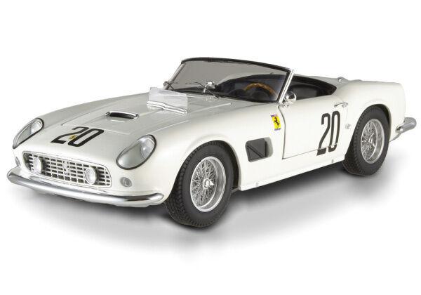 Hot Wheels Elite  Ferrari 250 California SWB LM 1969 (L.E. 5000 pcs) T6931 1 18