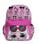 """Large School Printed Backpack 16/"""" Girls Bag Pink LOL Bag Pink L.O.L Surprise"""