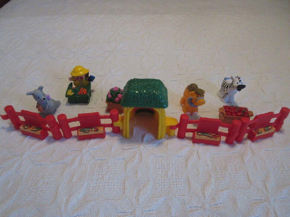 Andet legetøj, zoologisk have, Fisher Price