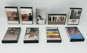 Classic Rock Cassette Lot of (9) The Police, Billy Joel, Huey Lewis and More