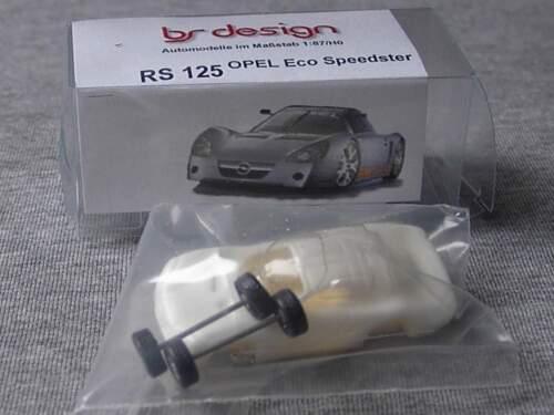 Opel Eco Speedster 1:87 bs-design Resin
