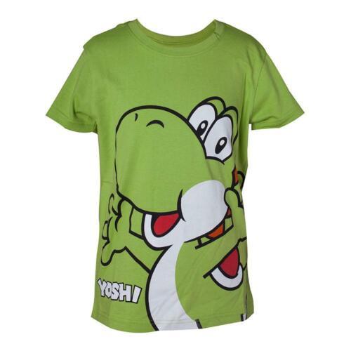 Super Mario Bro Big Yoshi KID/'S T-shirt garçon 86//92 vert TS662804NTN-86//92