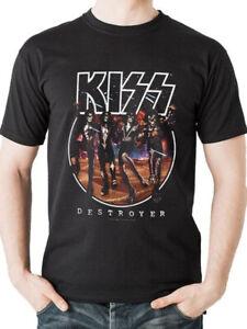 Kiss-Destroyer-T-Shirt-Official-Classic-Rock-Music-Album-Cover-Unisex-Mens-S-L