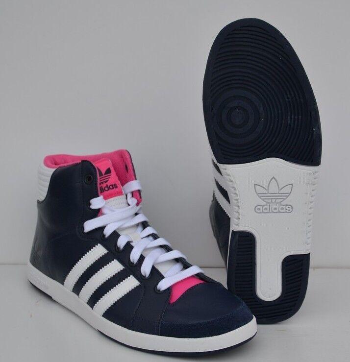 Chaussure femme ADIDAS ORIGINALS COURT SIDE HI W  MARINE T: 40 UK:6.5 Ref:V24343