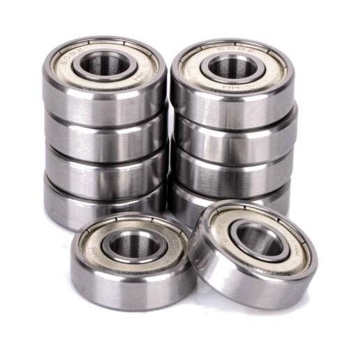 10Pcs Pack of 10 Bearing 608ZZ 8x22 mm 608Z Metric Ball Bearing VXB Bearings