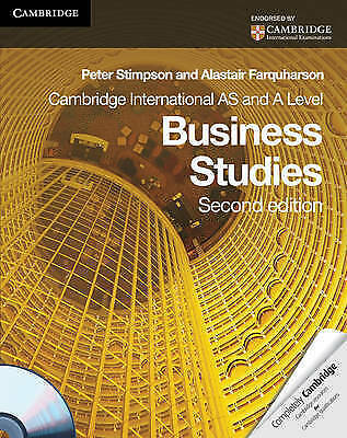 1 of 1 - Cambridge International AS and A Level Business Studies Coursebook-ExLibrary