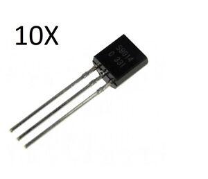 50pcs BC239C BC239 C TO-92 Amplifier Transistor NPN