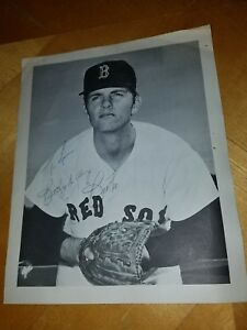 Bill-Lee-Boston-Red-Sox-Pitcher-Photo-Signed-Auto