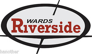 Vintage look Wards Riverside Benelli Variation #2 Gas Tank Vinyl Decal Sticker