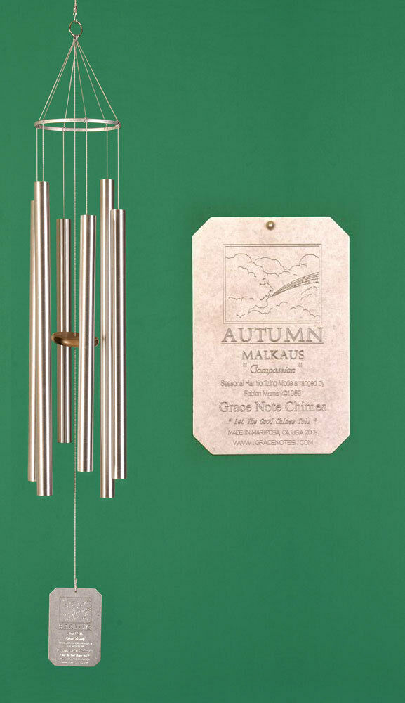 Grace Note Seasonal Harmonizing Chimes® Chimes® Chimes® Autumn 50 inch  engraving available 8df93f