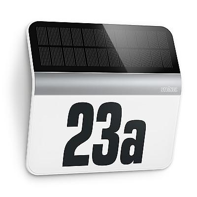 STEINELLH Hausnummernleuchte Solar Wandleuchte Solar