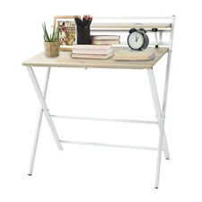 Wooden Folding Writing Table Computer Desk Pc Laptop Home Office Furniture