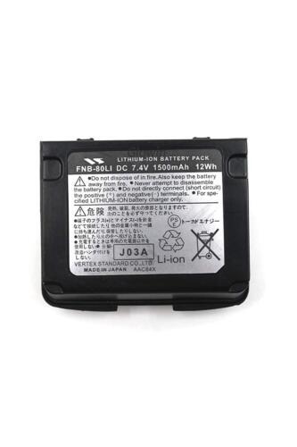 Battery FNB-80Li FNB-V80Li for YAESU VERTEX Radio VX-5R VX-6R VX-7R VXA-710