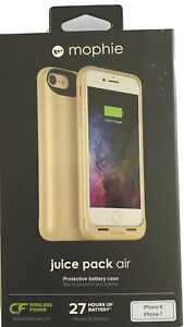 mophie juice pack Air Protective Battery Case for iPhone 7/8 #3781_JPA-IP7-GLD