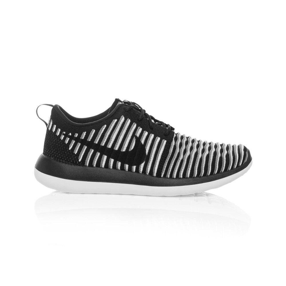 Nike Nike Nike roshe due donne flyknit scarpa - nero   bianco   nero   cool grigio | Louis, in dettaglio  | Gentiluomo/Signora Scarpa  019ed9