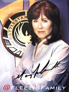 Battlestar Galactica - Photo Autographed by Mary McDonnell (+ Surprise Bonus)
