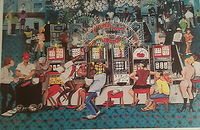 Annie Lee  Art Print Cash Flow/Casino/African American Art  Liquidation Sale!!
