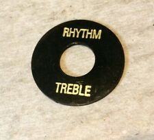 Black Rhythm//Treble Switch Ring for Gibson® Les Paul SG ES-335 AP-0663-023