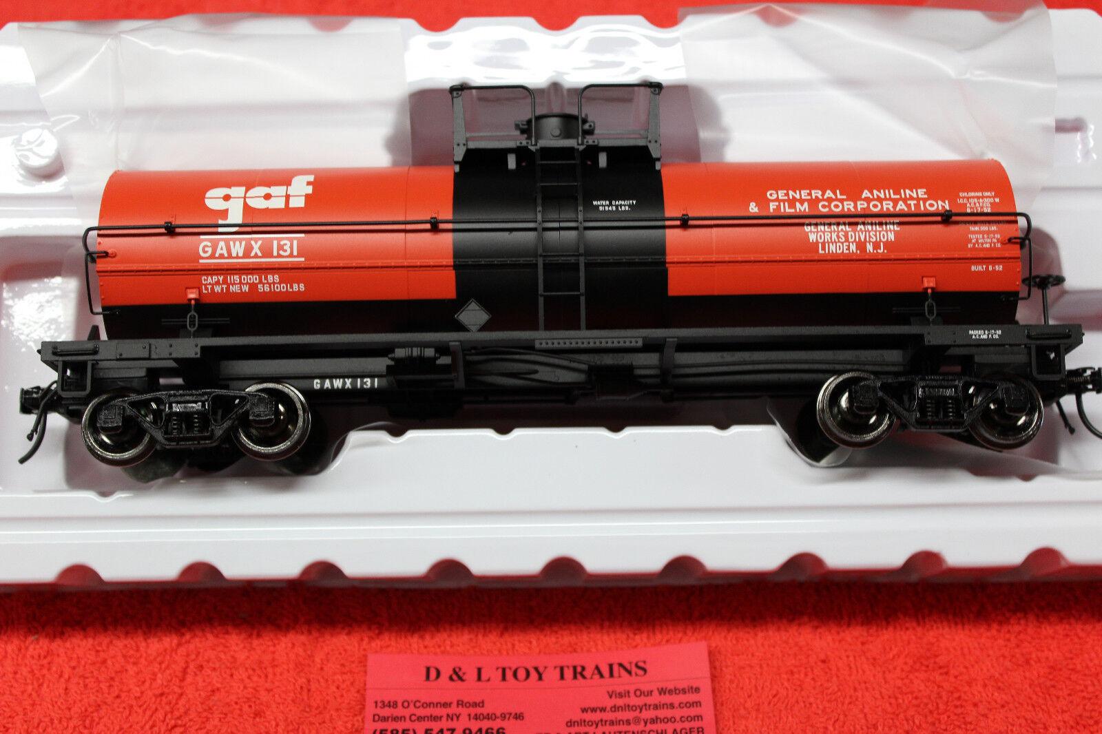 3006510 GAF Linden NJ 11,000 Gallon Tank Car 2 Rail NEW IN BOX