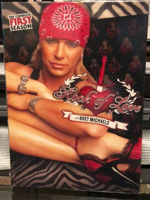 Bret Michaels - Rock Of Love - Season 1 Dvds 3-Disc Set -2094