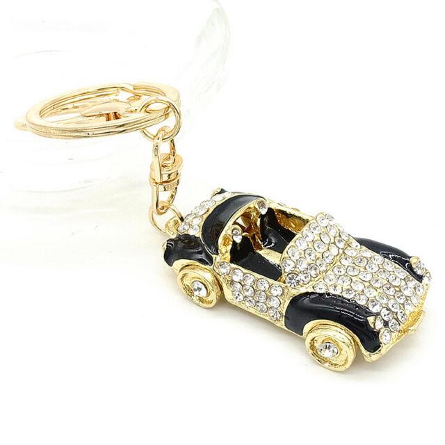 Key Ring Purse Bag Rhinestone Crystal Keyring Keychain charm Pendant Gift G242