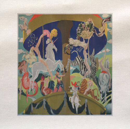 Carrusel de circo impreso en panel de tela hacer un Cojín De Tapicería Craft