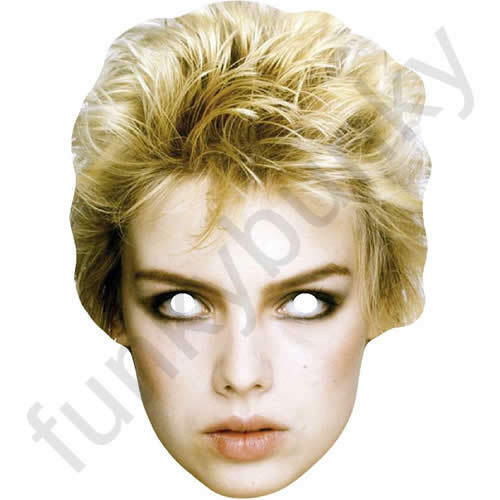 All Our Masks Are Pre-Cut! Kim Wilde Celebrity Retro 1980/'s Card Face Mask