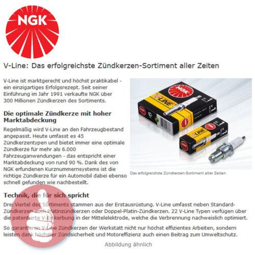 5 x Original NGK Zündkerzen V-Line 17