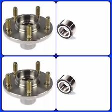 FRONT WHEEL HUB AND BEARING FOR  MAZDA 626 (1998-2001) PAIR NEW FAST SHIPPING