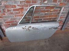 Porsche 911 Left Door with Glass, Aluminium Frame, Hinges 1969 - 1971