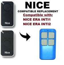 NICE ERA INTI1, INTI2 Compatible Replacement Rolling code Remote Control