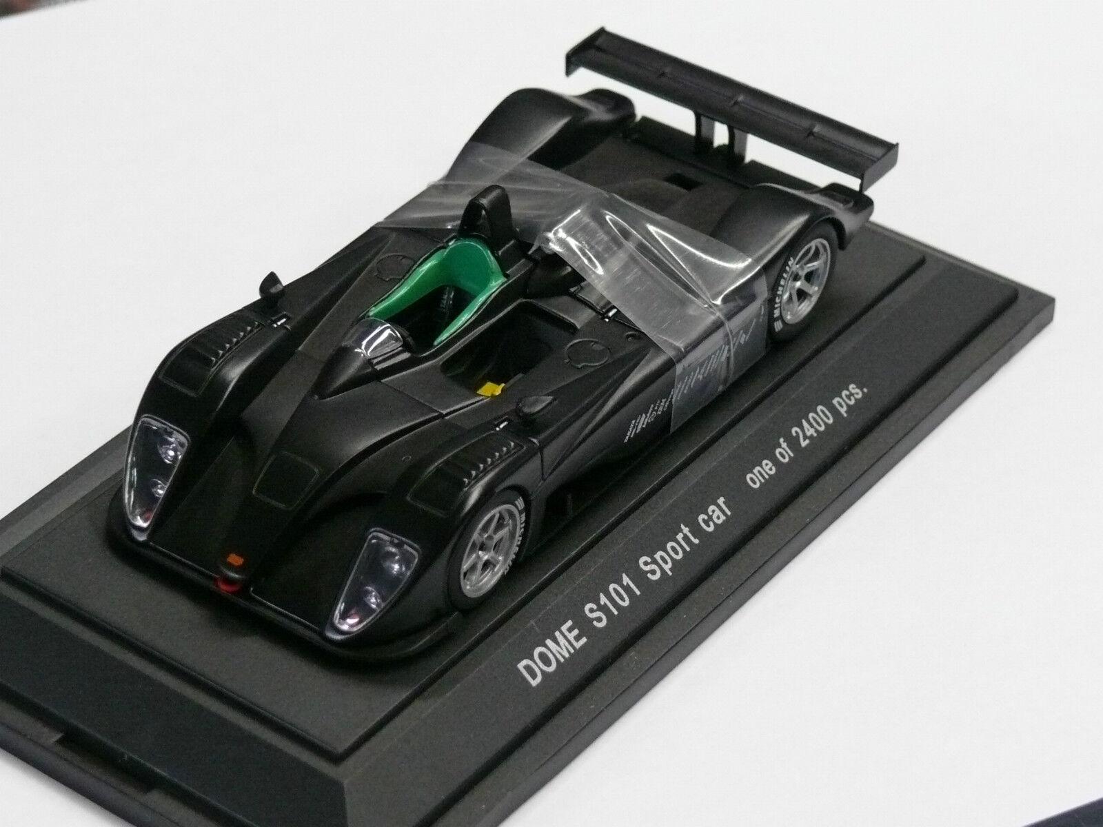 1 43ème DOME   RARISSIME S101 SPORT TEST CAR - NOIR - Série limitée à 2400 Exemp