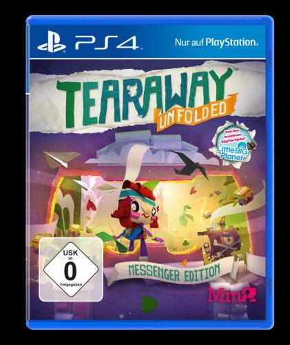 1 von 1 - Tearaway Unfolded - Messenger Edition (Sony PlayStation 4, 2015, DVD-Box)