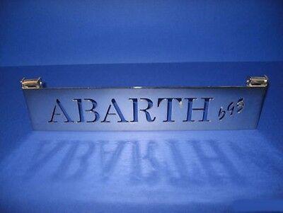 FIAT 500 F//L//R ALZACOFANO MOTORE ABARTH 595 STAFFA METALLO CROMATO ALZA COFANO