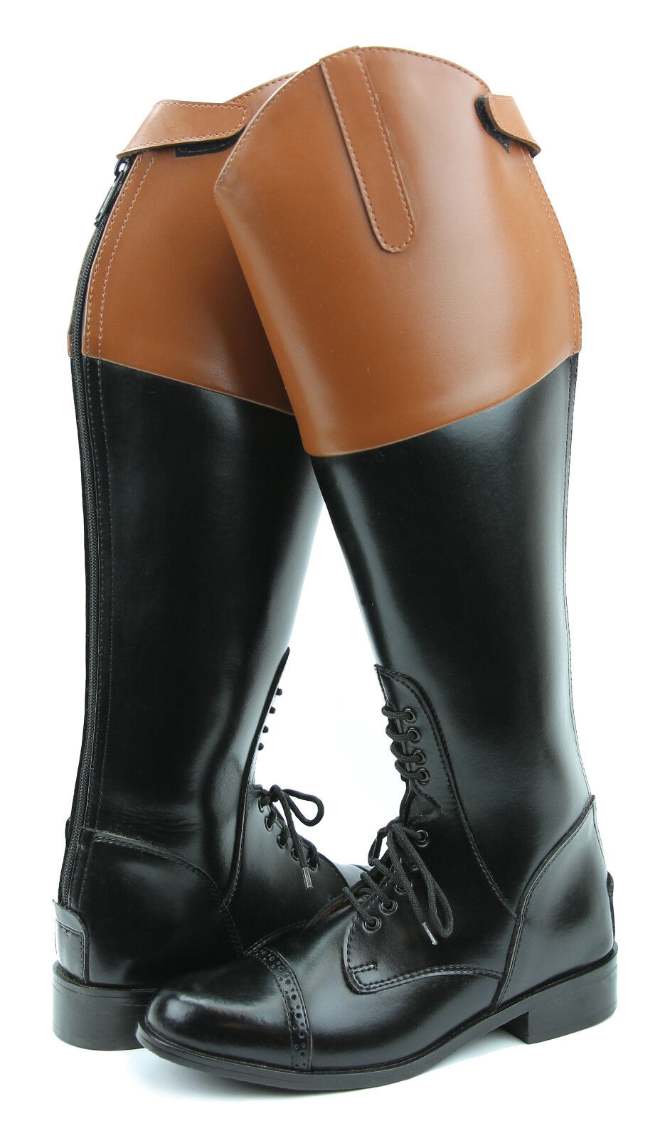 Hispar ROYAL Donna ladies Field Fox Hunt Hunting Stivali With With With Back Zipper Tan Top d00c51
