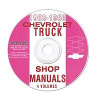 1963-66 Chevy Truck Shop Manual