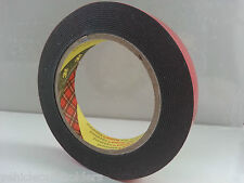 CAR BADGE TRIM PLATE ACCESSORY TAPE   MADE BY 3M   DOUBLE SIDED ADHESIVE FOAM
