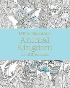 Stock Photo Millie Marottas Animal Kingdom Set Of 3 Journals A Marotta Adult Color