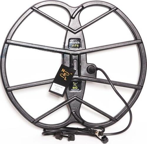 """Nel Big 15/""""x17/"""" Search Coil for Bounty Hunter Gold//Platinum Metal Detector New"""