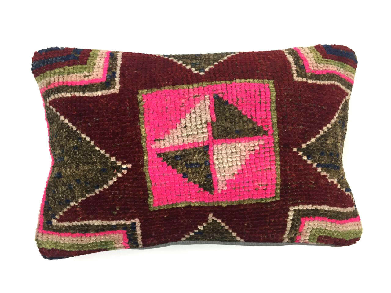 Fait Main Tapis Coussin Couverture Tapis Oreiller 40 cm turc persan marocain 64189