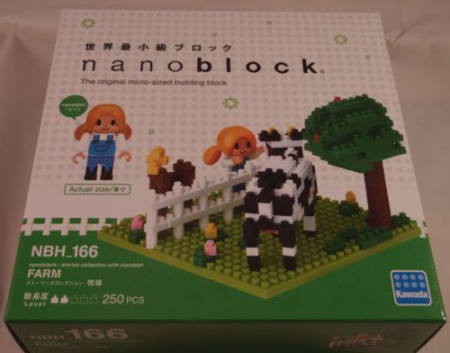 Kawada Nanoblock FARM JAPAN building toy block  NBH/_166 Worldwide nanobbit
