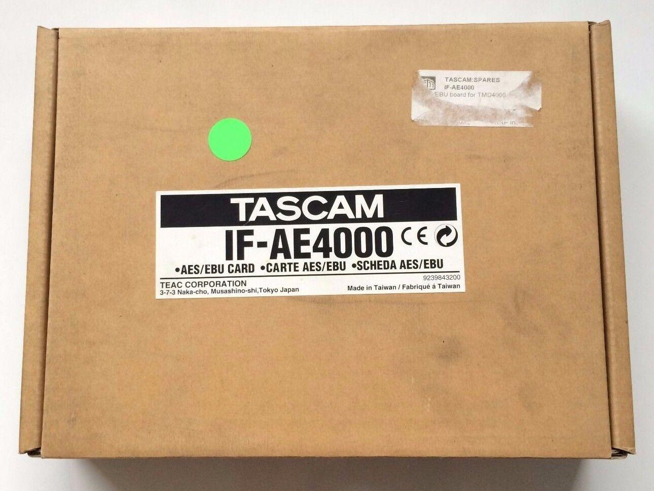 Tascam IF-AE4000 AES BEU Card