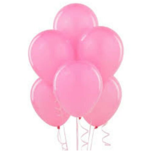 100 PLAIN BALONS BALLONS HELIUM /& AIR BALLOONS Quality Party Birthday Wedding