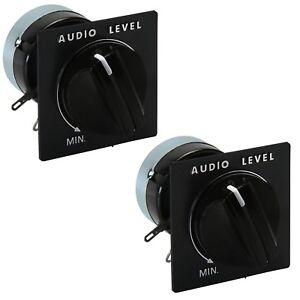 TWO-PACK-Speaker-Volume-L-Pad-8-Ohm-15-Watt-Monaural-Audio-Sound-Level-Controls