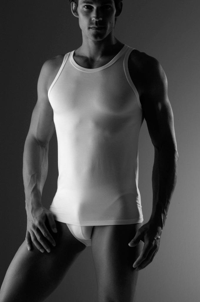 Zimmerli of Switzerland Pureness Micromodal Mens Sleeveles Muscle Tank T-Shirt