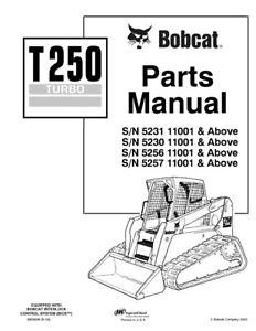 Bobcat Parts Diagram   Bobcat T250 Parts Diagram Wiring Diagrams