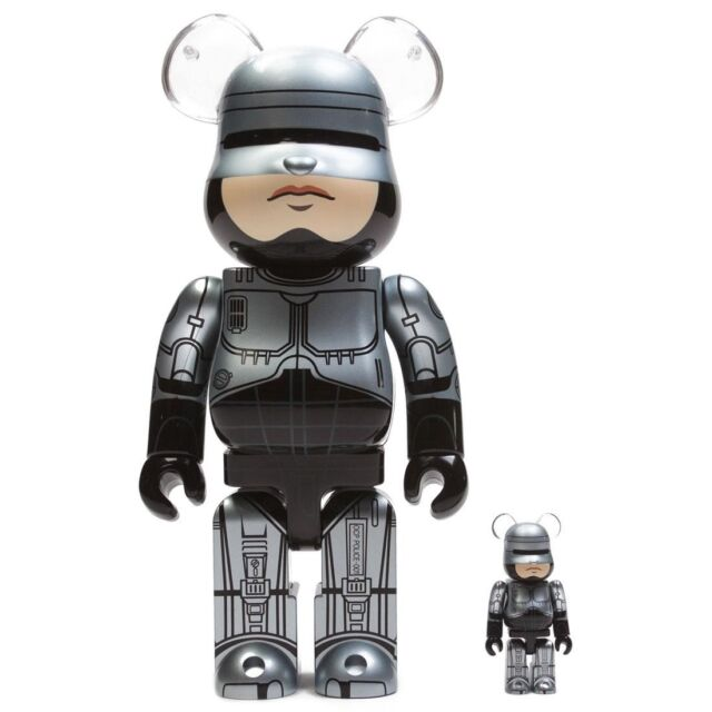 Medicom BE@RBRICK Robocop 100/% 400/% Bearbrick Figure Set
