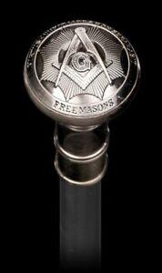 Spazierstock-Freimaurer-Masonic-Mason-Tempelritter-Templer-Freimaurerei